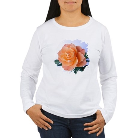 Orange Rose Women's Long Sleeve T-Shirt
