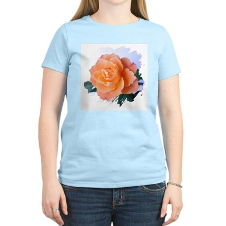 Orange Rose Women's Pink T-Shirt