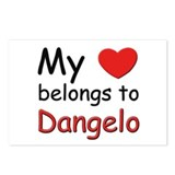 My heart belongs to dangelo Postcards (Package of
