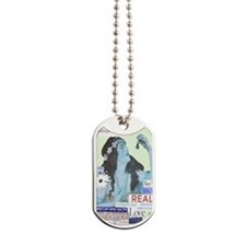 celebrate5x8bw Dog Tags