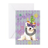Party Bichon Greeting Cards (Pk of 10)