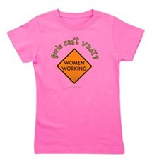 construction-sign2 Girl's Tee