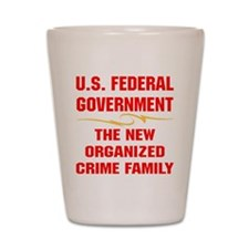 blk_Fed_Gov_Organized_Crime_Family Shot Glass