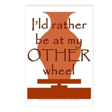 other_wheel-t-shirt Postcards (Package of 8)