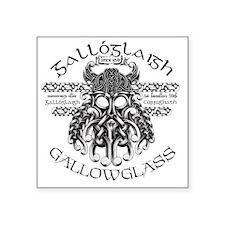 "gallowglass Square Sticker 3"" x 3"""