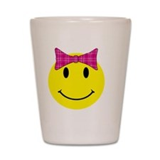 smilebowpinktop Shot Glass