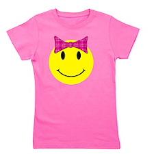 smilebowpinktop Girl's Tee