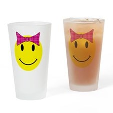 smilebowpinktop Drinking Glass