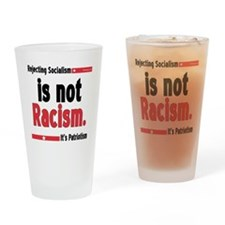 racism10x10 Drinking Glass