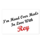 In Love with Rey Postcards (Package of 8)