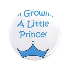 "imgrowingalittleprince_crown2 3.5"" Button"