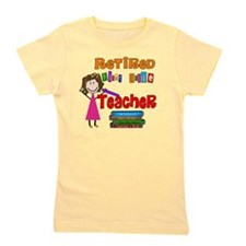 Retired 1st Grade Teacher Girl's Tee