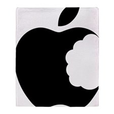 apple logo Throw Blanket