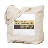 Welcome to Wyoming - USA Tote Bag