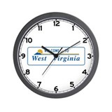 Welcome to West Virginia - USA Wall Clock