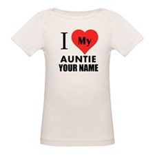 I Heart My Auntie (Custom) T-Shirt