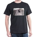 Hali-Dog Framed Black T-Shirt