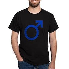 Male Symbol 7x7 T-Shirt