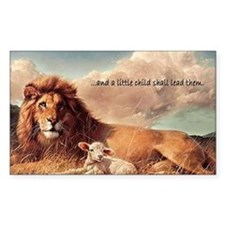 greeting card and little child Decal