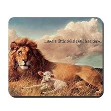 greeting card and little child Mousepad