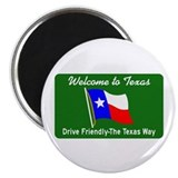 "Welcome to Texas - USA 2.25"" Magnet (100 pack)"