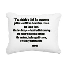 paulwel Rectangular Canvas Pillow