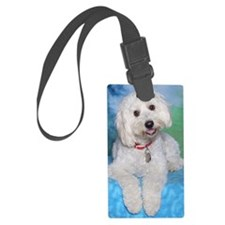 024 Square Luggage Tag
