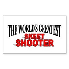 """The World's Greatest Skeet Shooter"" Decal"