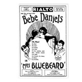 Bebe Daniels Miss Bluebeard Postcards (Package 8)