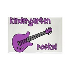 kindergartenrocks_purple Rectangle Magnet