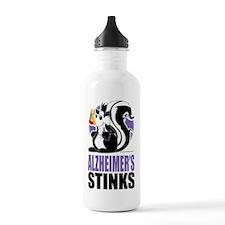 Alzheimers-Stinks Sports Water Bottle