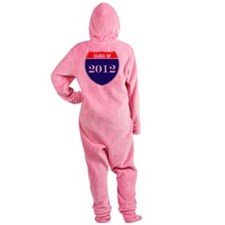 is2012co Footed Pajamas