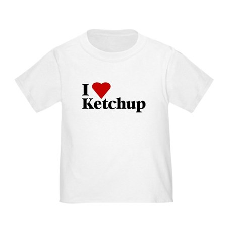 I love ketchup Toddler T-Shirt