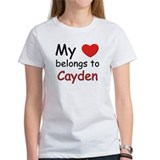 My heart belongs to cayden Tee