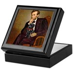 Lincoln-Black Pug Keepsake Box