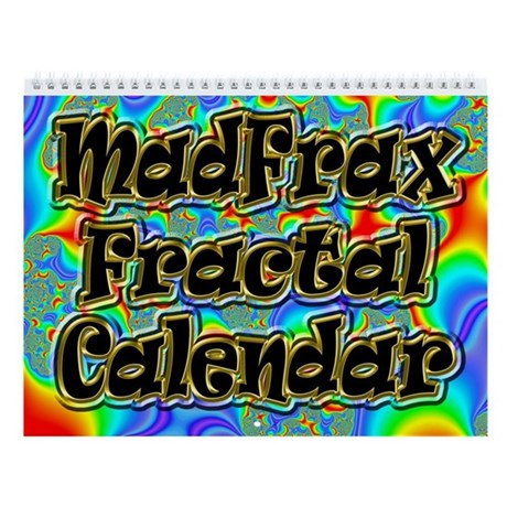 Fractal R~04 Custom Wall Calendar