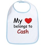 My heart belongs to cash Bib