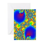 Fractal R~07 Greeting Cards (10 Pack)
