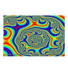 Fractal R~09 Postcards (8 Pack)