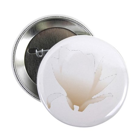 "White Lily 2.25"" Button (10 pack)"