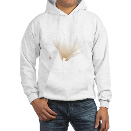 White Lily Hooded Sweatshirt