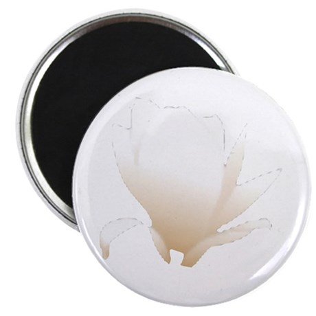 "White Lily 2.25"" Magnet (100 pack)"