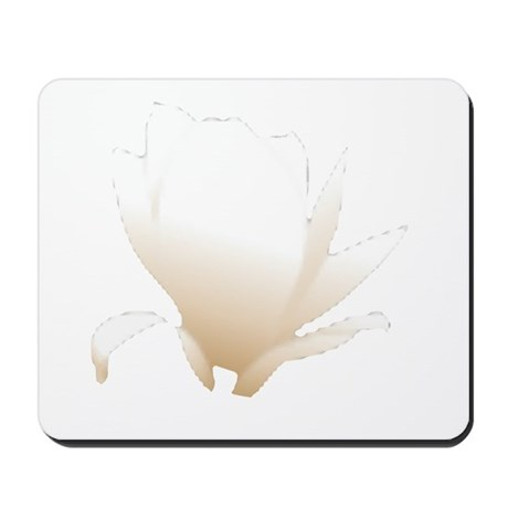 White Lily Mousepad
