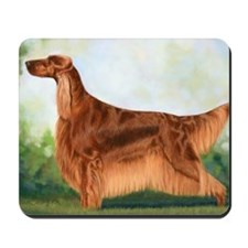 Irish Setter 3 by Dawn Secord Mousepad