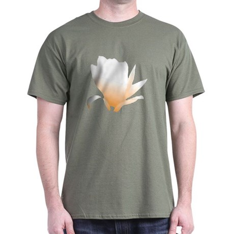 Pastel Orange Bloom Dark T-Shirt