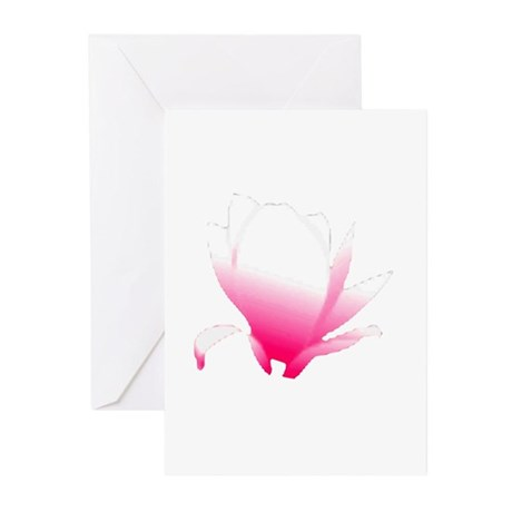 Pink Blossum Greeting Cards (Pk of 10)