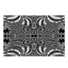 Fractal C~07 Postcards (8 Pack)