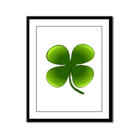 Shamrock Framed Panel Print