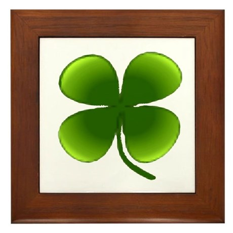 Shamrock Framed Tile