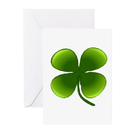Shamrock Greeting Cards (Pk of 10)